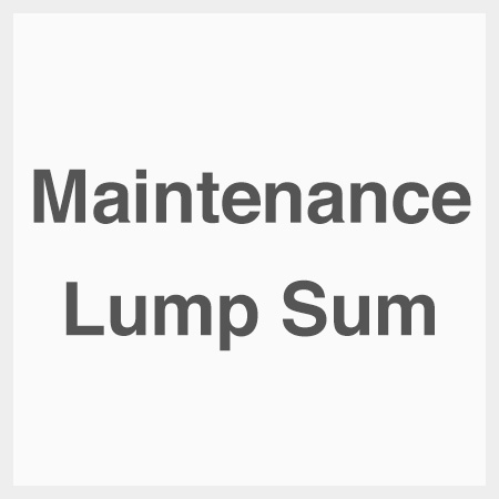Maintenance-lump-sum