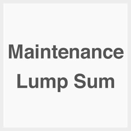 Maintenance-lump-sum